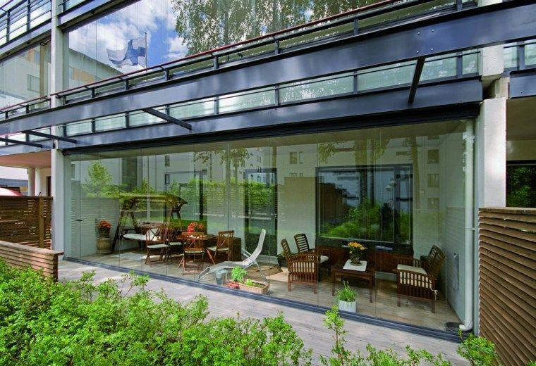 Balkongehäuse 38 praktische Designs Balkonentwurf