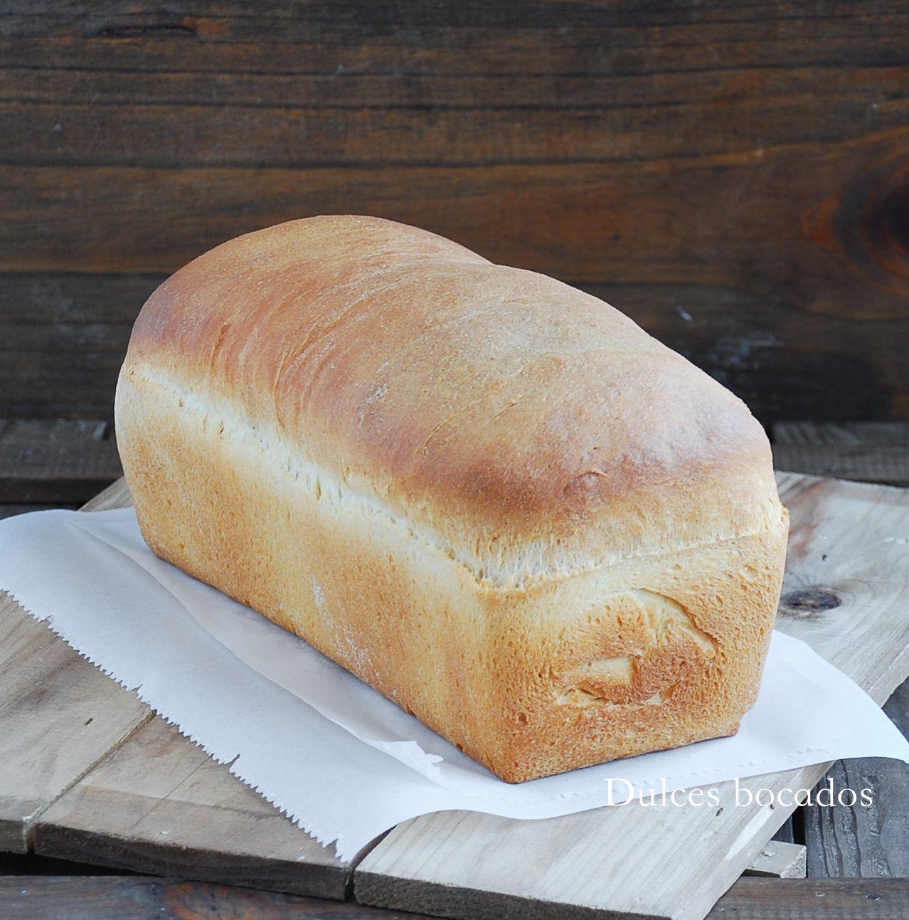 Dulces bocados Pan de molde casero pan cacero Pinterest Pan