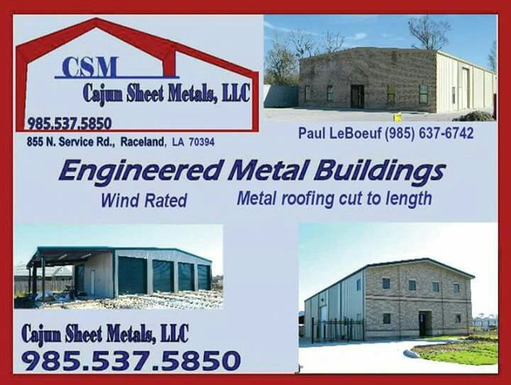 Need Metal Cajun Metal Buildings In Raceland La Mention Ad