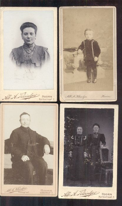 Online veilinghuis Catawiki: Portretfoto's - 38x - 1880/1910