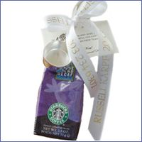 Starbucks Coffee 10 00 Elegant Wedding Favors Personalized Party Bridal Baby