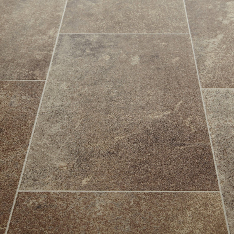 Bathroom Vinyl Flooring Carpetright: Harmony 544 Nepal Stone Tile Vinyl Flooring