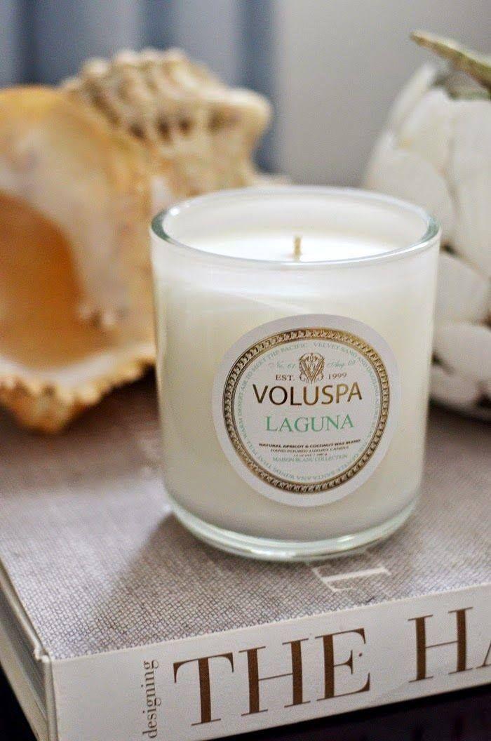 Voluspa Laguna Candle Interior Design