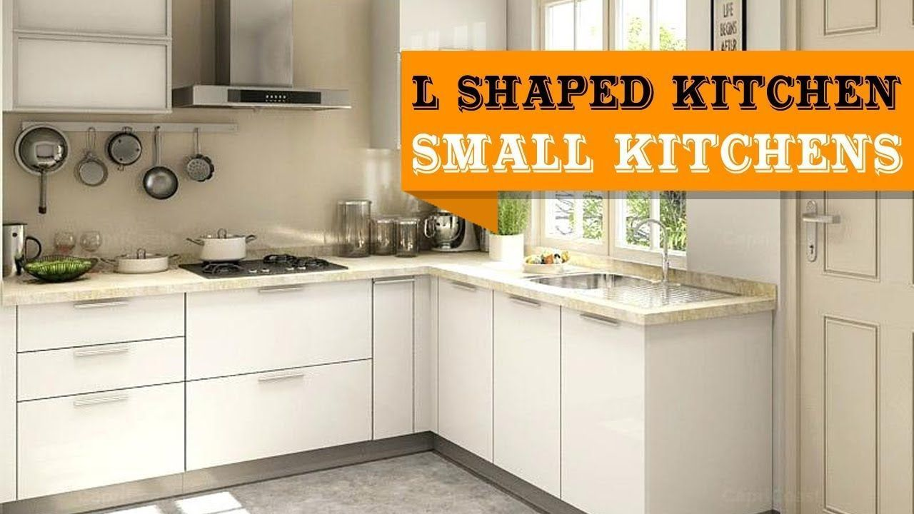 30+ L Shaped Kitchen Designs for Small Kitchens For small ...