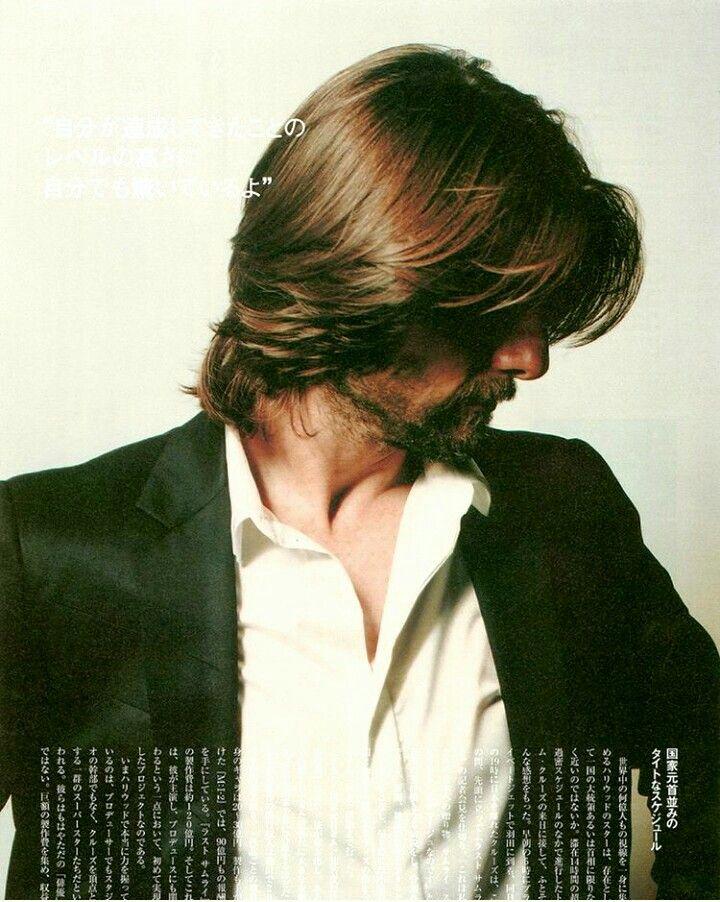Tom Cruise Tom Cruise Hair Tom Cruise Long Hair Long Hair Styles Men