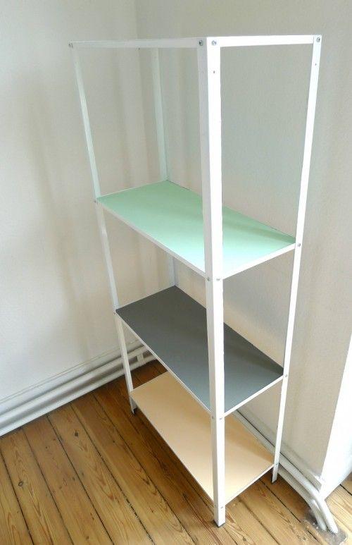 Pastel Hack Plan To Do Something Like This To My Hyllis Shelf