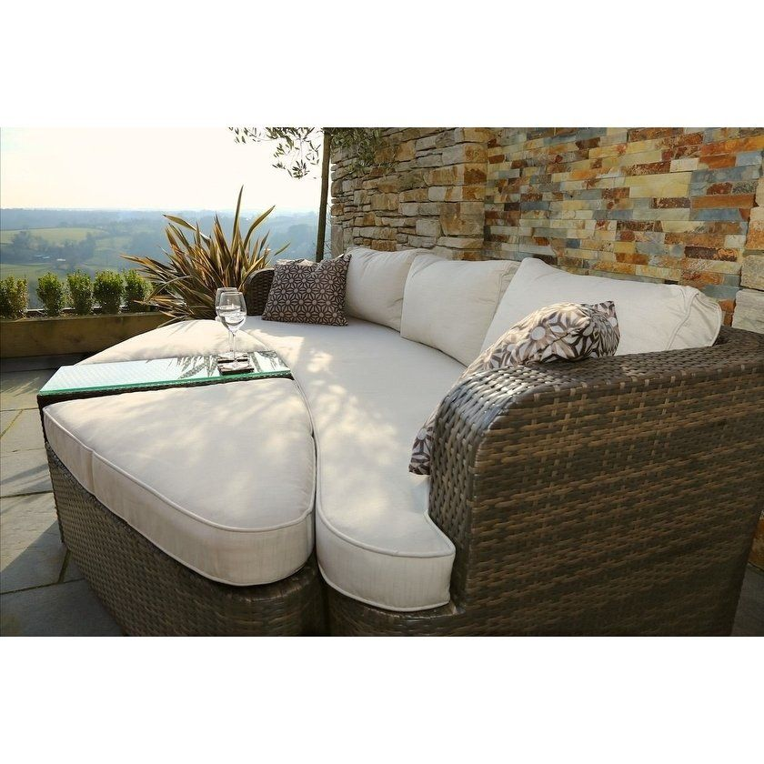 Outdoor Sectional Daybed Sofa Set Rattan Garden Furniture By Moda