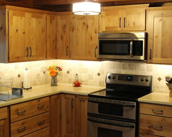 Furniture Charming Craftsman Kitchen With Pine Kitchen Cabinets Also Cool Pendant Light Also Stainles Knotty Pine Cabinets Pine Cabinets Pine Kitchen Cabinets
