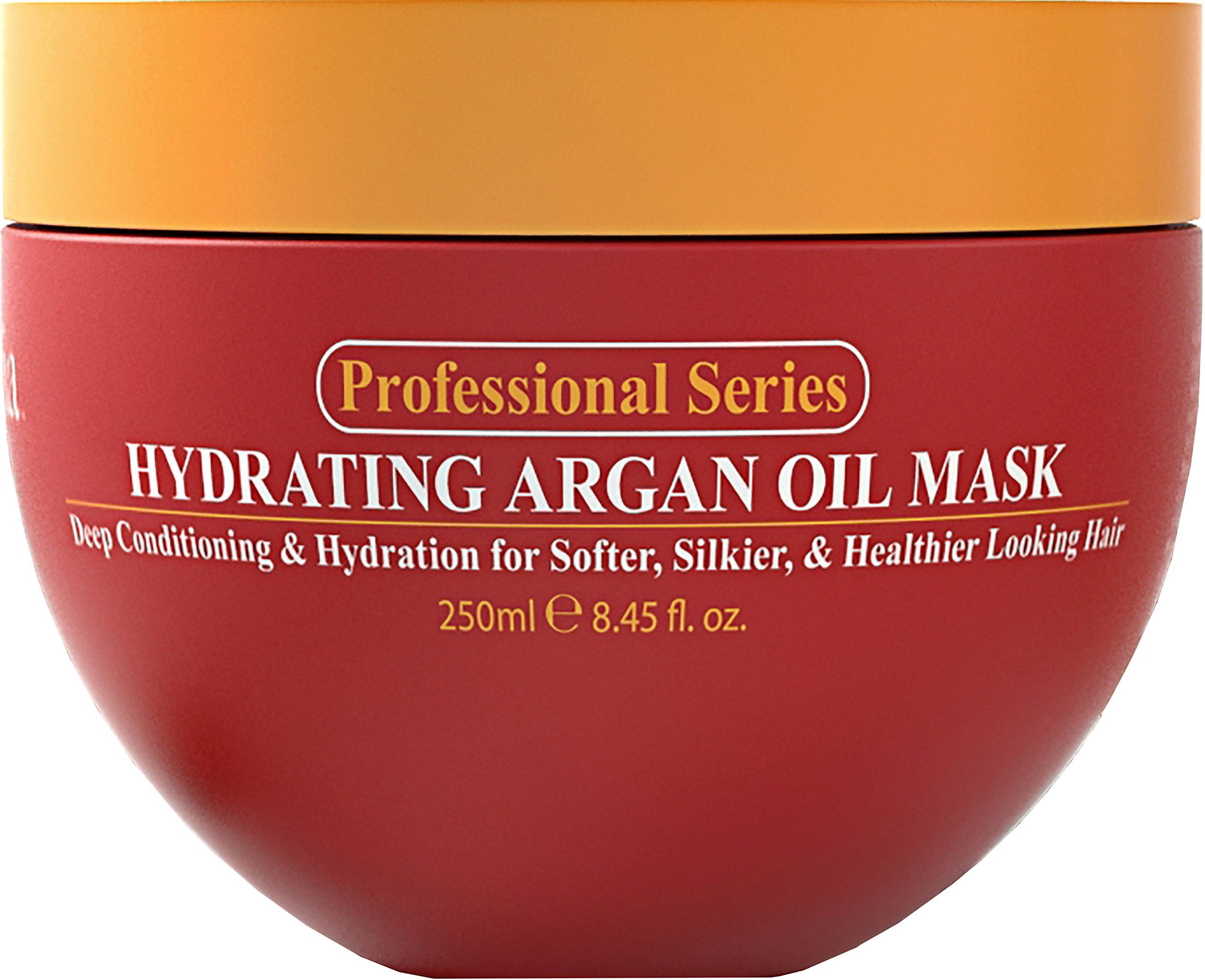 Hydrating Argan Oil Hair Mask and Deep Conditioner By Arvazallia for