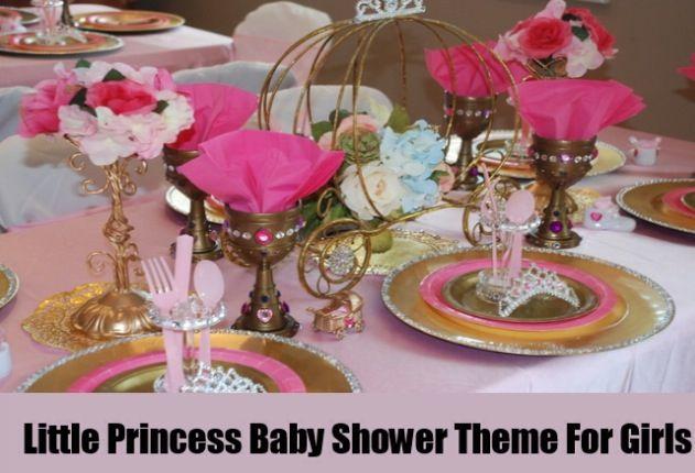 Royal Princess Theme Baby Shower Setup Baby Shower Ideas