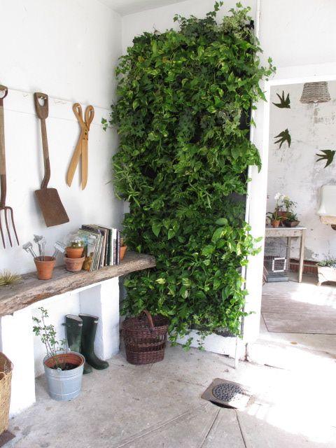 Vertical Garden | Brico | Pinterest | Potting Station, Gardens And Living  Walls
