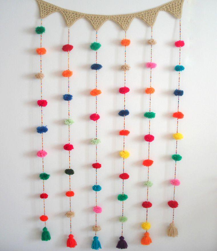 Best 25 decoracion con pompones ideas on pinterest - Decoracion con pompones ...
