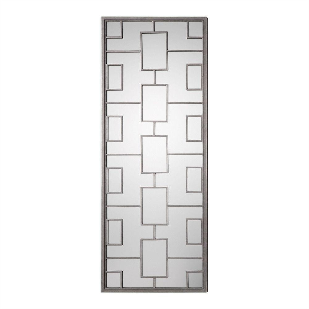 Grid Floor Mirror – Silver Leaf | Products | Pinterest | Floor ...