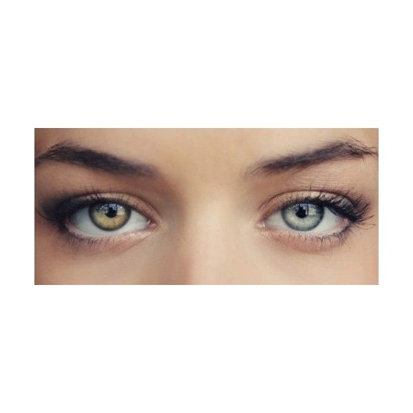 Heterochromia Tumblr Liked On Polyvore Featuring Eyes Makeup
