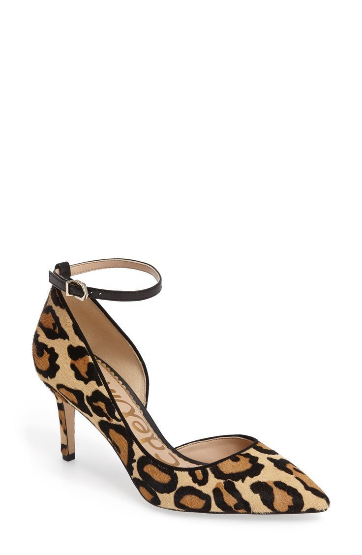 810620d9c7f These Sam Edelman leopard print pumps are so fun and part of the Nordstrom  Anniversary Sale