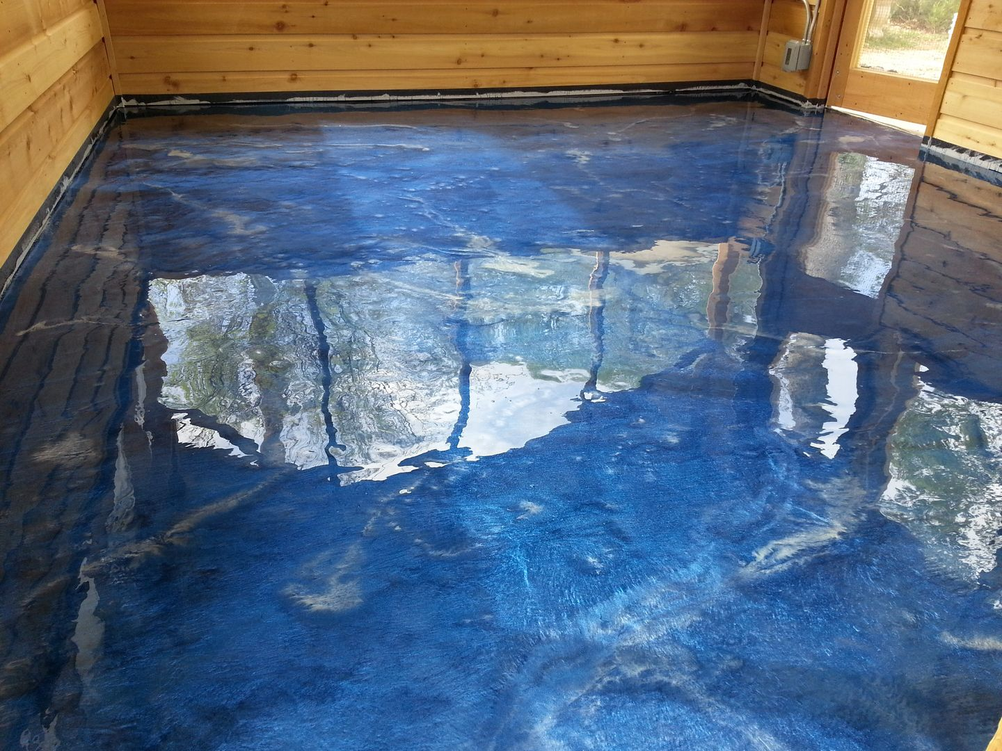 Stained Concrete Floors Acid Stain