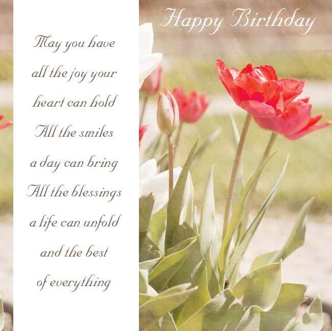 Pin On Birthday Greetings