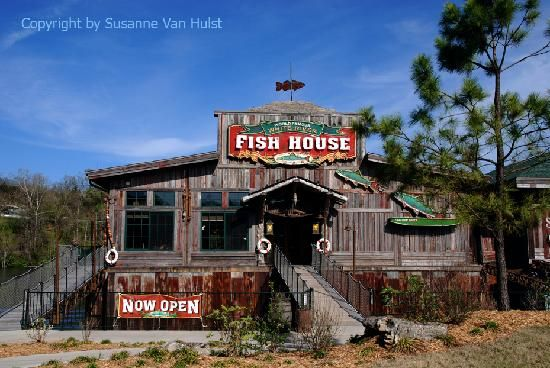 The Entrance To The Fish House In Branson Fish House White River Branson Vacation