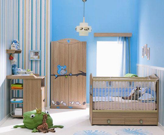 decoracin de cuartos de bebes varones