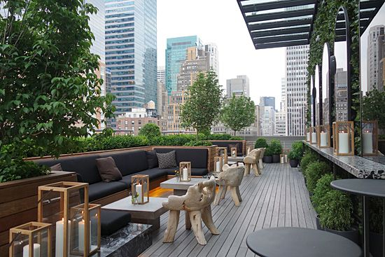 Castell Rooftop Lounge 260 W 40th St AC Hotel, Times