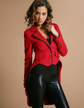 Red Coat Tail Jacket - Coat Nj