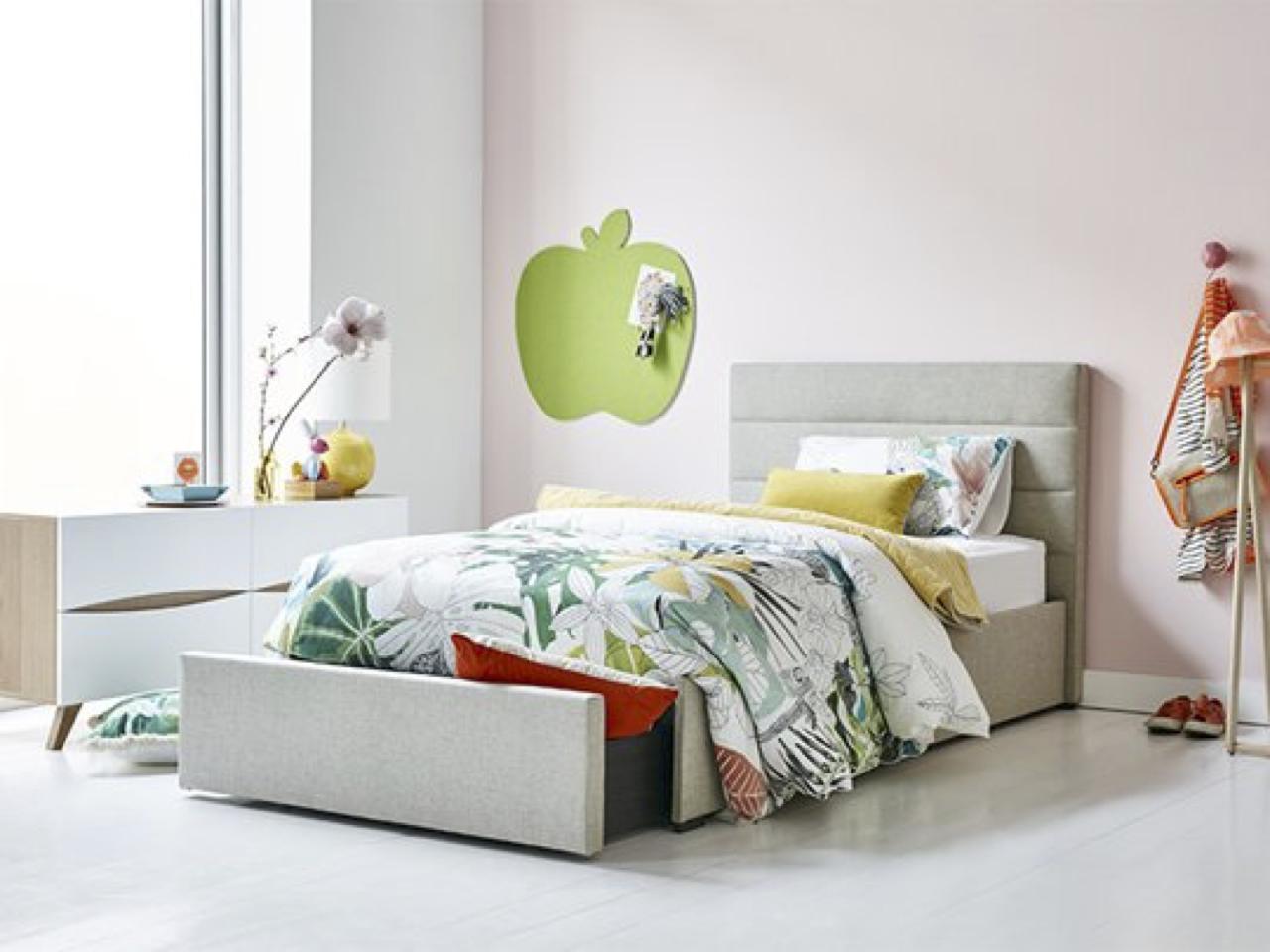 Paddington Bed Frame With 1 Drawer Storage Base In 2019 Single