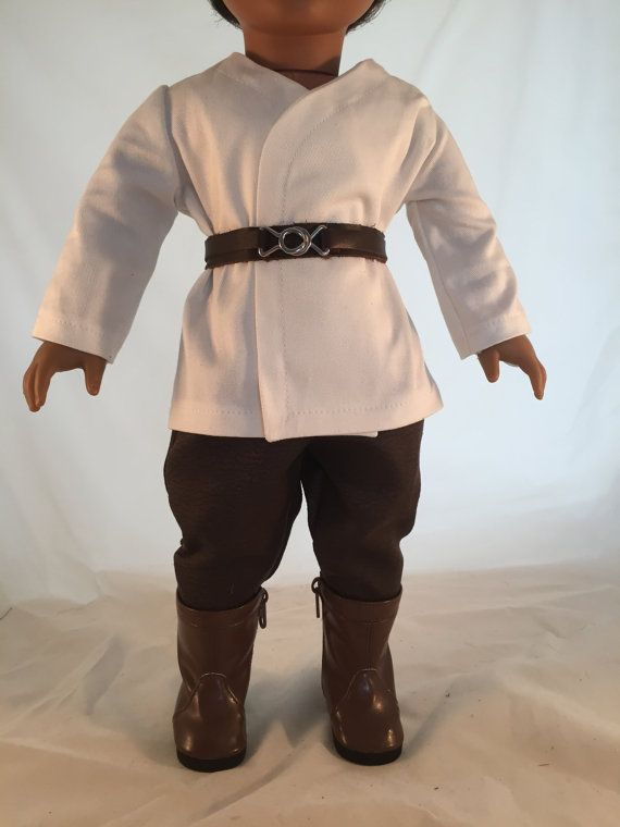 American Girl Sized Jedi style Costume Star by enchanteddesigner