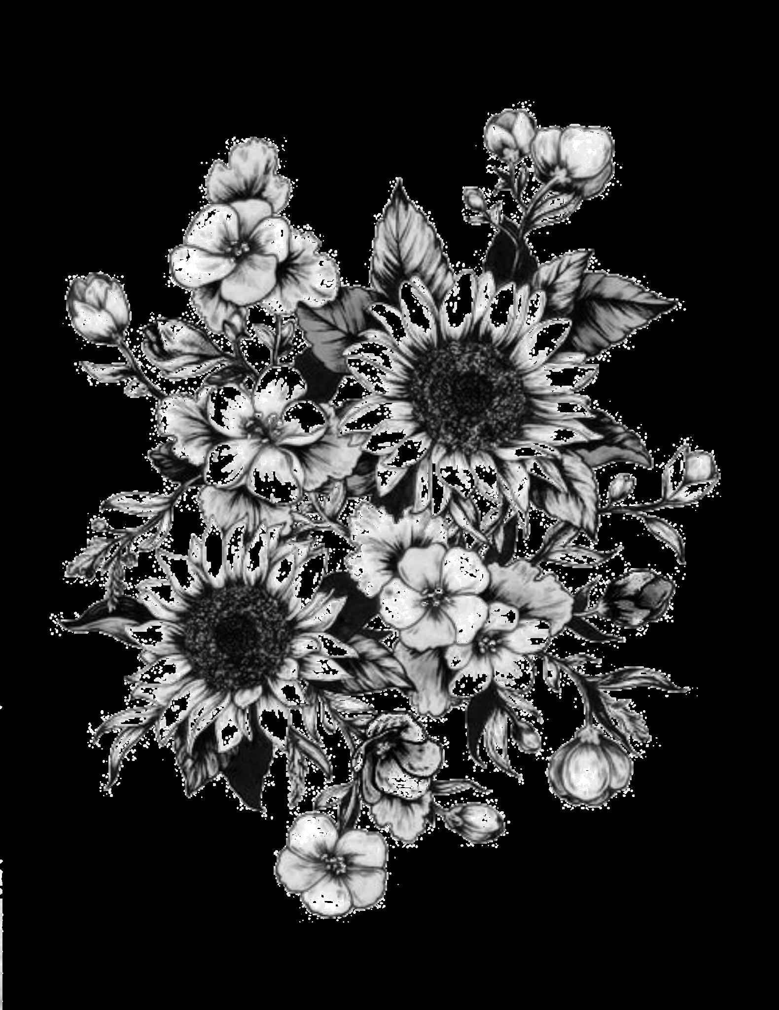 Tattoo Sketch Wildflower Tattoo Sunflower Tattoo Sleeve Forearm Flower Tattoo