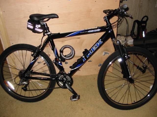 2b4780b1796 2003 Trek 4900 alpha (hard tail mountain bike). One of the last American  made bikes by Trek