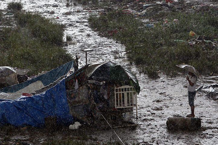 Philippines floods the aftermath Philippines, Marikina