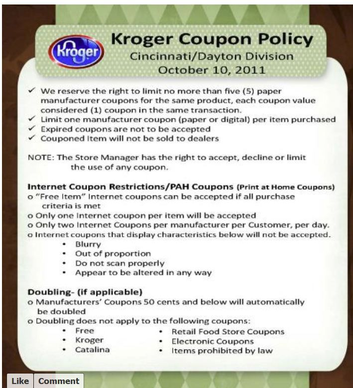 Coupons Deals And More A Coupon Deals Blog Kroger Couponing Coupons Manufacturer Coupons