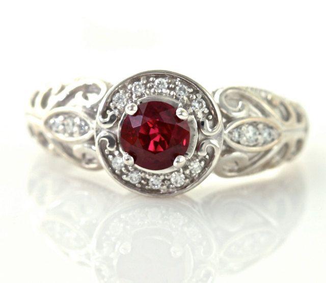 Beautiful Jadau Indian Royal Jewellery From Http Gemnjewelery Ruby Engagement Ring