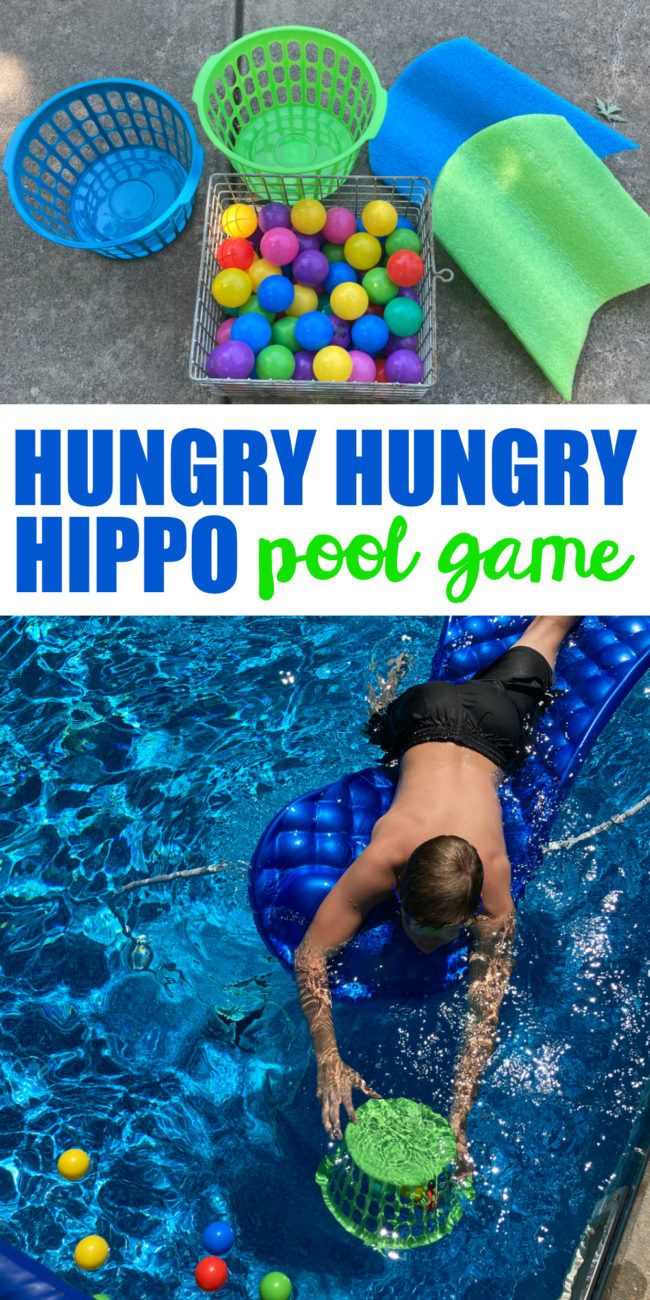 Hungry Hungry Hippo Pool Game - I Can Teach My Child!