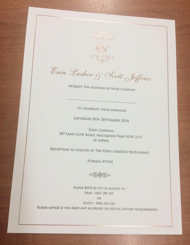 24 Formal Wedding Invitations Wedding Invitation Design
