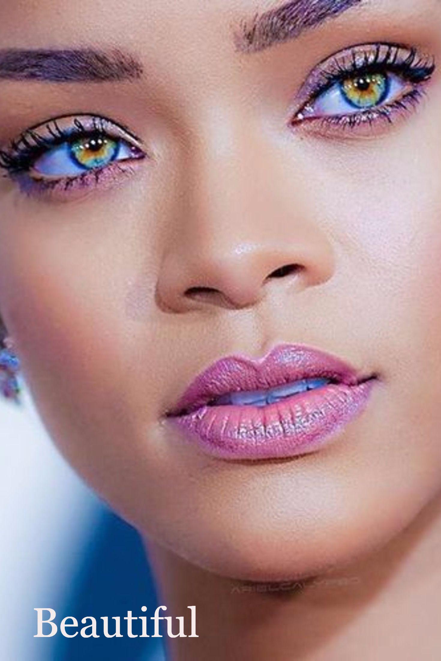 Rihanna Augen - Rihanna Age Albums