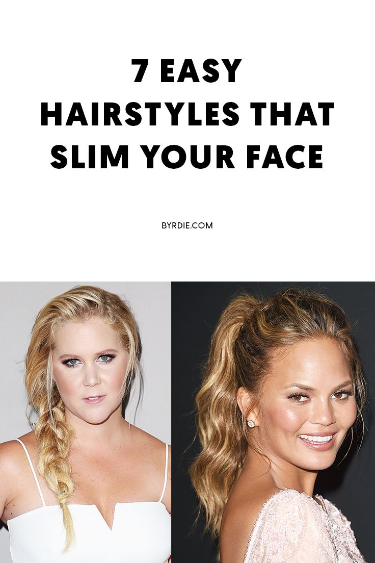yes, your haircut can make your face look slimmer—here are 7