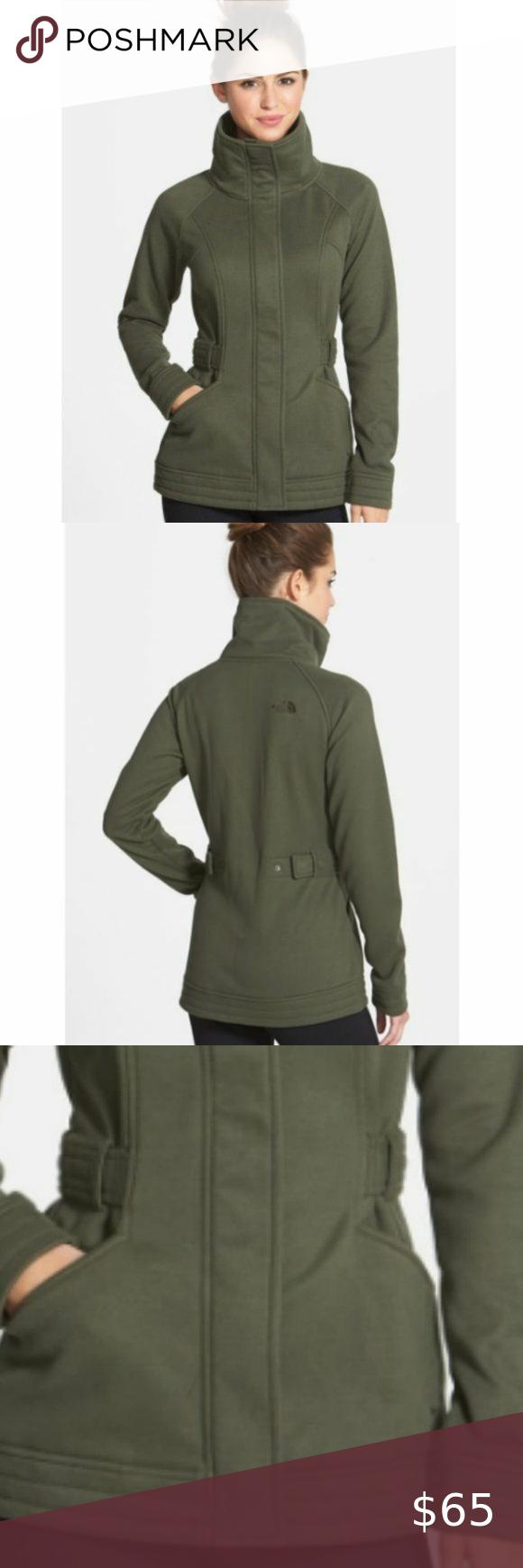 North Face Women S Olive Avery Fleece Jacket M North Face Women Fleece Jacket Jackets [ 1740 x 580 Pixel ]