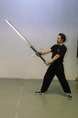 The Greatsword - The Greatswords were large two-handed swords  The