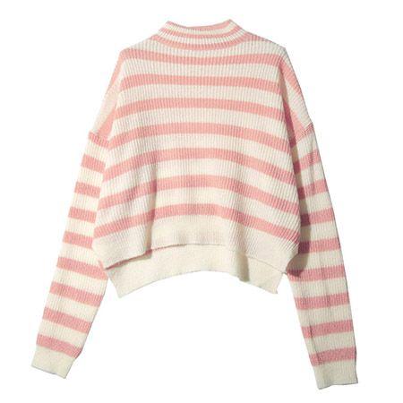 Stylenanda Striped Turtleneck Sweater, $37; en.stylenanda.com