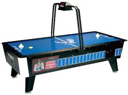 Power Hockey Air Hockey Table From Great American Recreation   Get more information about this game at: http://www.bmigaming.com/games-catalog-greatamerican.htm
