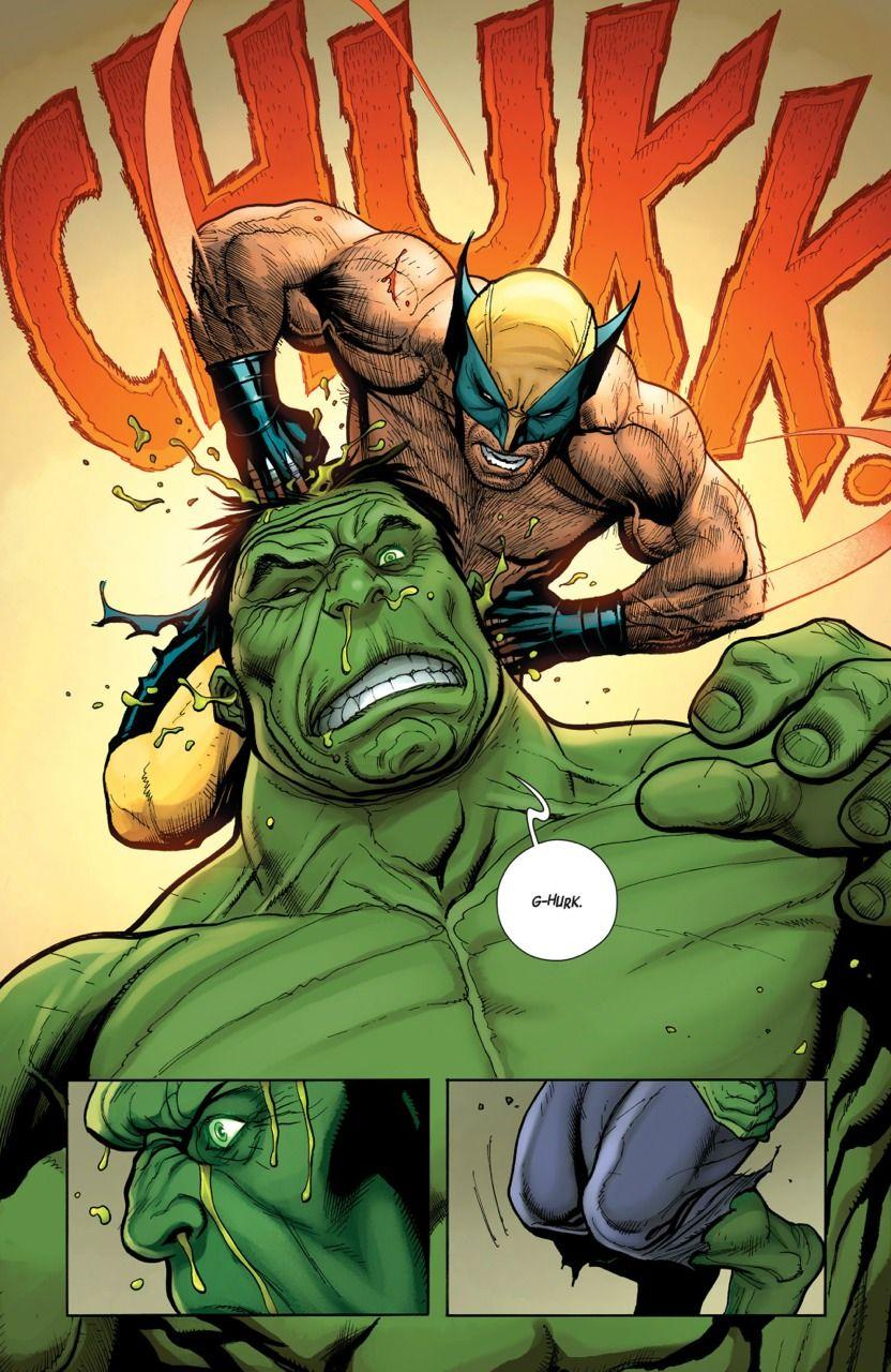 wolverine vs hulk by frank cho first pinterest cómic