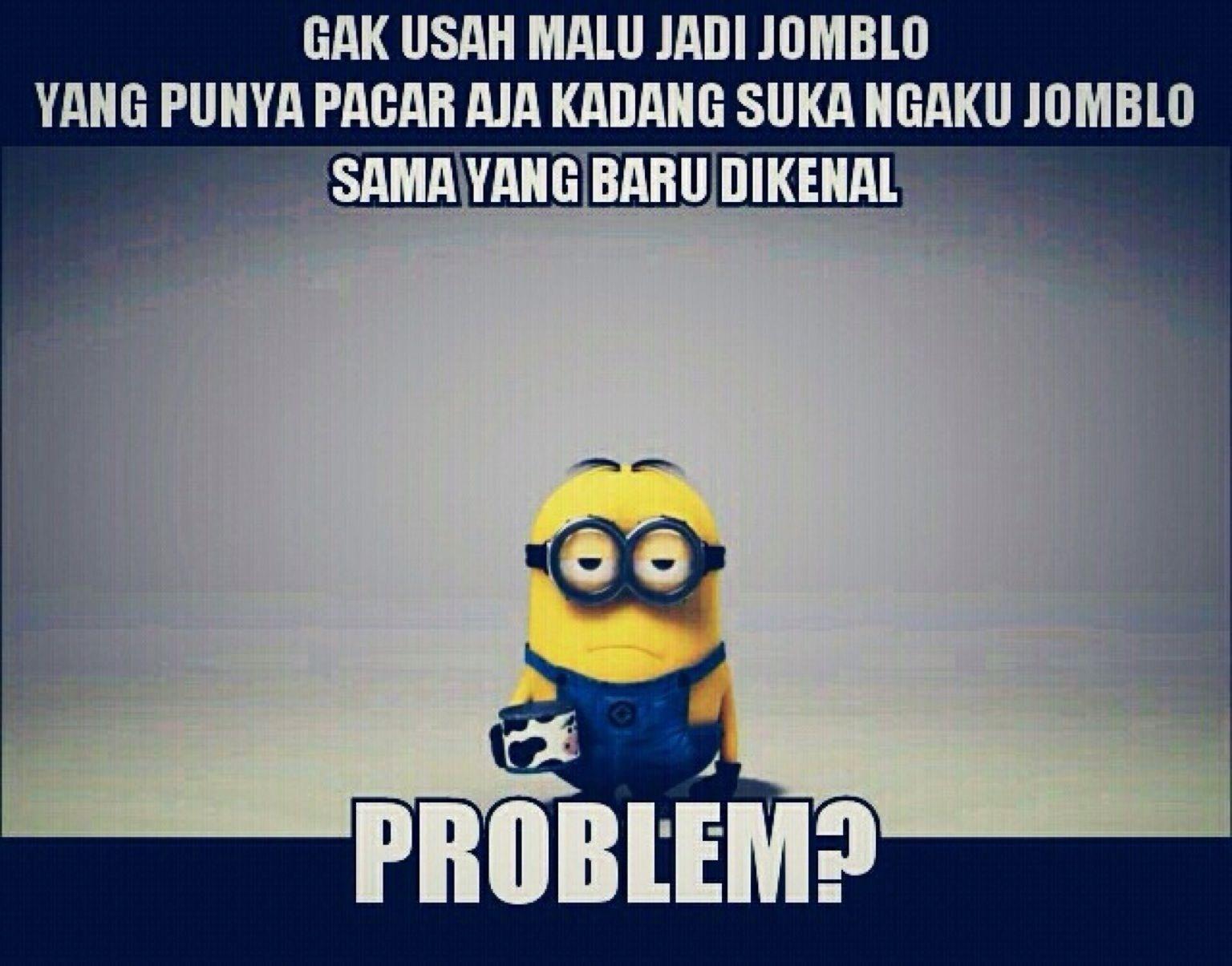 Jomblo cool meme indonesia quotes indonesia meme rage comics funny jokes minion