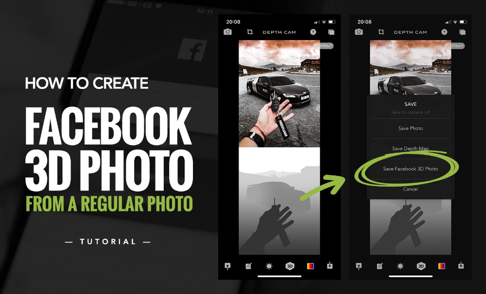 How To Create Facebook 3d Photo From A Regular Photo