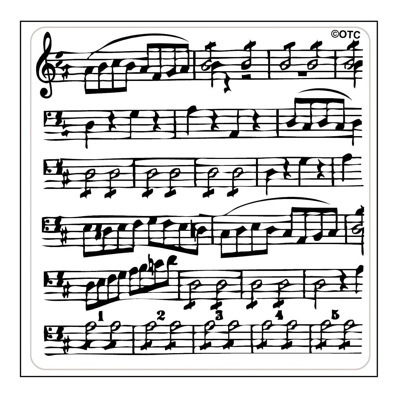 Sheet Music Background Stamps Orientaltrading Com Sheet Music