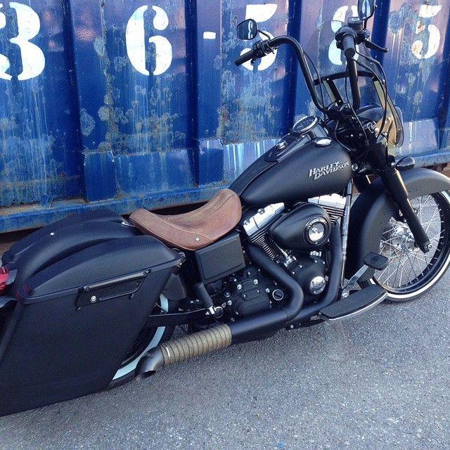 Custom Harley Street Bob >> Best 25+ Harley davidson dyna ideas on Pinterest   Custom street bob, Custom street bikes and ...