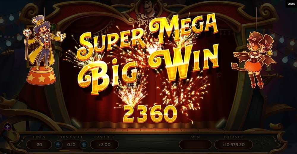 Dr fortuno slot machine online yggdrasil movie software