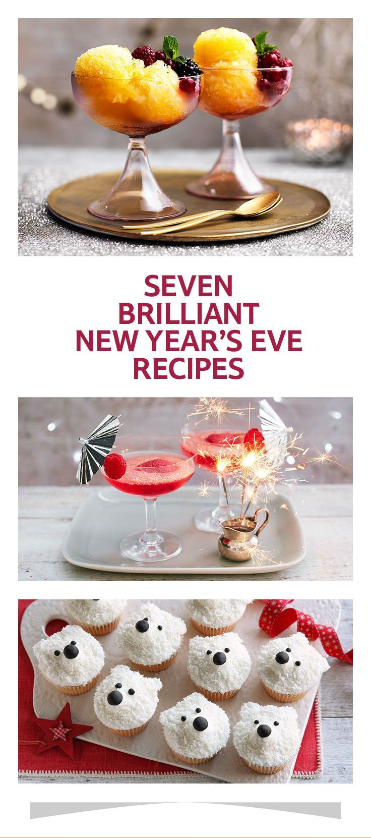 Seven brilliant New Year's Eve recipes New year's eve
