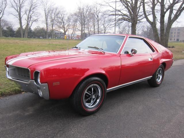 1968 Amc Amx Coupe Classic Cars Muscle Old American Cars Amc