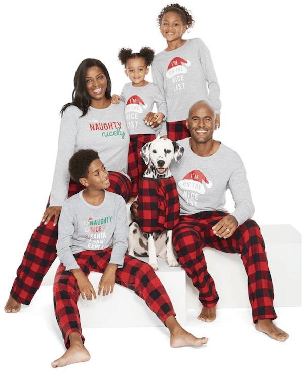 Gnome Elf And Santa Christmas Pajamas Family Pjs Mommematch Com Family Pajama Sets Family Pajamas Kids Plaid