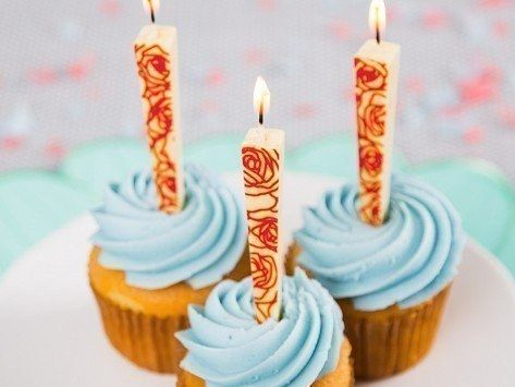 21 Insanely Awesome New Products To Check Out This Week EDIBLE BIRTHDAY CANDLES White Chocolate